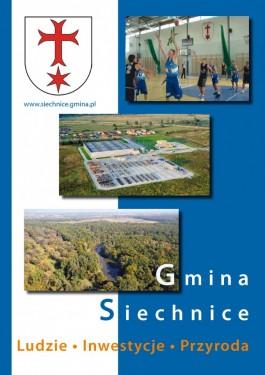 Folder promocyjny gminy Siechnice - rok 2011 strona 1