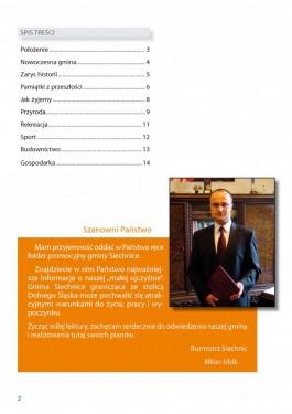 Folder promocyjny gminy Siechnice - rok 2011 strona 2
