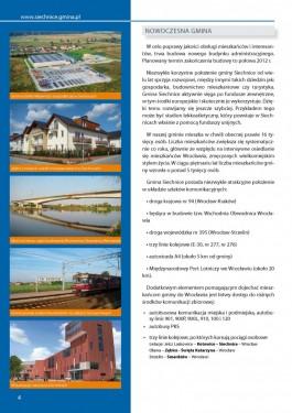 Folder promocyjny gminy Siechnice - rok 2011 strona 4