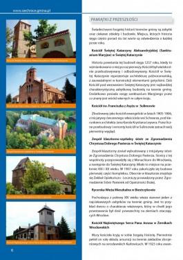 Folder promocyjny gminy Siechnice - rok 2011 strona 6
