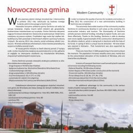 Folder promocyjny Gminy Siechnice (styczeń 2014) strona 5