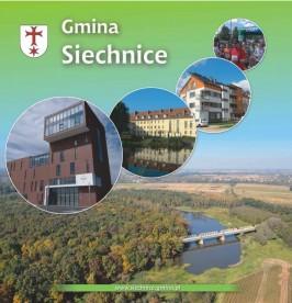 Folder promocyjny gminy Siechnice wydany w grudniu 2012 roku strona 1
