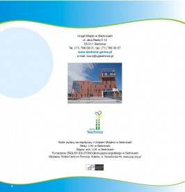 Folder promocyjny gminy Siechnice wydany w grudniu 2012 roku strona 2
