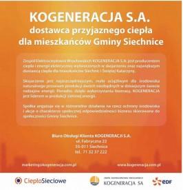 Folder promocyjny gminy Siechnice wydany w grudniu 2012 roku strona 3