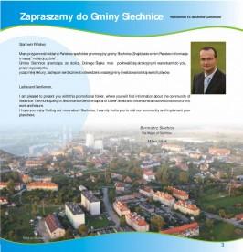 Folder promocyjny gminy Siechnice wydany w grudniu 2012 roku strona 4