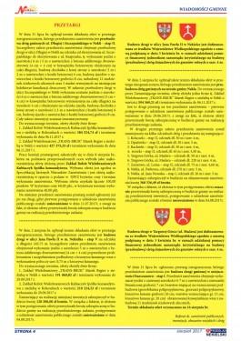 Przegląd Nekielski 08 / 2017 strona 4