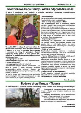 Między Rządzą i Cienką nr 1 (56) luty strona 3